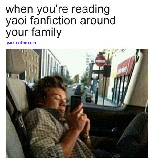 when youre reading yaoi fanfiction around your family yaoi meme - When you're reading yaoi fanfiction around your family miscellaneous-yaoi Memes - fanarts on yaoi-online.com